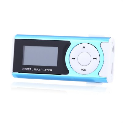 1.1 Inch Screen Portable Micro Slot MP3 PlayerMP3 &amp; MP4 Players<br>1.1 Inch Screen Portable Micro Slot MP3 Player<br><br>Product weight: 0.019 kg<br>Package weight: 0.058 kg<br>Product Size(L x W x H): 6.50 x 1.50 x 3.00 cm / 2.56 x 0.59 x 1.18 inches<br>Package Size(L x W x H): 10.50 x 5.50 x 4.50 cm / 4.13 x 2.17 x 1.77 inches<br>Package Contents: 1 x MP3 Player, 1 x English User Manual