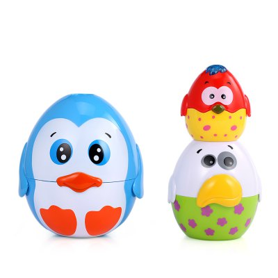 XangLei Kids Musical Egg Stacking Cup with Light