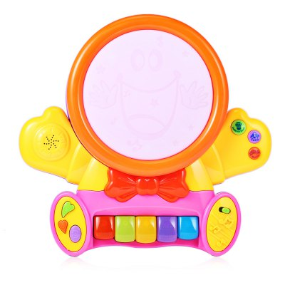 HangLei Baby Preschool Colorful Musical Smile Face Play Piano