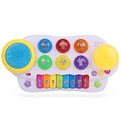 HangLei Baby Preschool Colorful Musical Play Piano