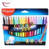 Maped 18 Colors Watercolor Brush Pen Water Based Marker