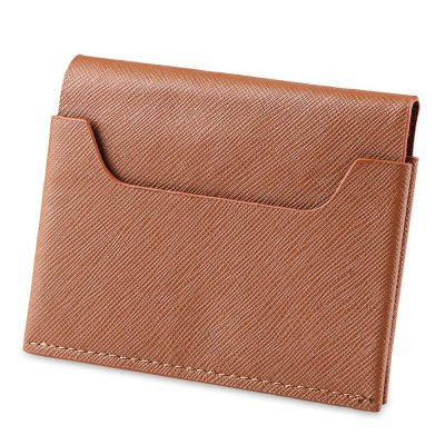 FLAMA Chic Anniversary Card Certificate Bag Student WalletWallets<br>FLAMA Chic Anniversary Card Certificate Bag Student Wallet<br><br>Closure Type: Open<br>Color: Black, Brown, Coffee<br>Gender: For Unisex<br>Height: 8.6 cm / 3.39 inches<br>Length(CM): 11 cm / 4.33 inches<br>Main Material: PU Leather<br>Package Contents: 1 x Wallet<br>Package size (L x W x H): 11.50 x 1.50 x 9.10 cm / 4.53 x 0.59 x 3.58 inches<br>Package weight: 0.061 kg<br>Pattern Type: Solid<br>Product weight: 0.040 kg<br>Style: Fashion<br>Wallets Type: Card Wallets<br>Width: 1 cm  / 0.39 inches