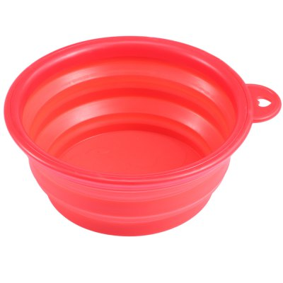 Silicone Collapsible Pet Dog Bowl
