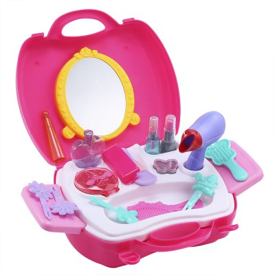 21pcs Baby Kids Mini Simulation Makeup Tools Box