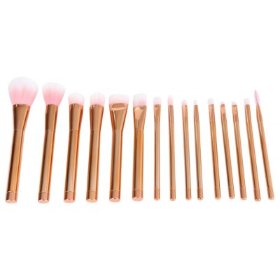 15pcs Blending Pencil Cosmetic Brushes