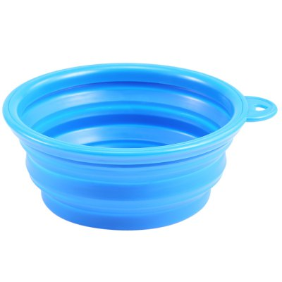 Silicone Collapsible Pet Dog BowlDog Feeding Supplies<br>Silicone Collapsible Pet Dog Bowl<br><br>Applicable Dog Breed: Medium-sized Dog, Small Dog<br>Package Contents: 1 x Pet Dog Bowl<br>Package Size(L x W x H): 14.50 x 14.50 x 2.00 cm / 5.71 x 5.71 x 0.79 inches<br>Package weight: 0.082 kg<br>Product weight: 0.059 kg