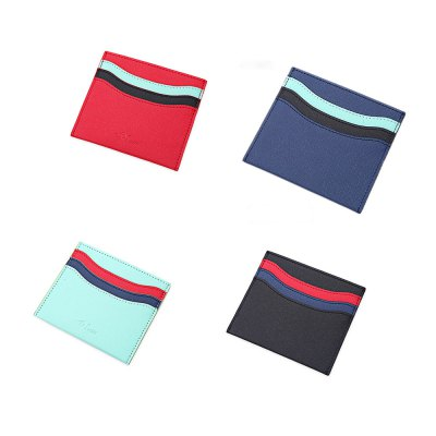 FLAMA Trendy Wave Pattern Wallets Light Card CoverWallets<br>FLAMA Trendy Wave Pattern Wallets Light Card Cover<br><br>Closure Type: Open<br>Color: Black, Red, Blue, Cyan<br>Gender: For Unisex<br>Height: 10.6 cm / 4.17 inches<br>Length(CM): 9.2 cm / 3.62 inches<br>Main Material: PU Leather<br>Package Contents: 1 x Card Wallet<br>Package size (L x W x H): 12.10 x 0.60 x 9.70 cm / 4.76 x 0.24 x 3.82 inches<br>Package weight: 0.043 kg<br>Pattern Type: Others<br>Product weight: 0.022 kg<br>Style: Fashion<br>Wallets Type: Card Wallets<br>Width: 0.1 cm / 0.04 inches