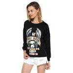 Street Style Pullover Sweatshirt with Print deal