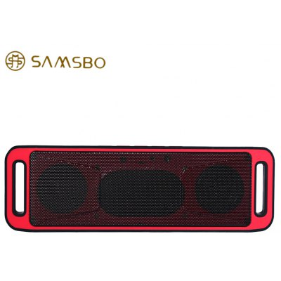 SAMSBO S160 Wireless Bluetooth Rectangle Speaker Player