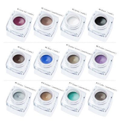 HUAMIANLI Waterproof Natural Smooth Liquid EyelinerEye Makeup<br>HUAMIANLI Waterproof Natural Smooth Liquid Eyeliner<br><br>Formulation: Liquid<br>Net Content(ml): 23g<br>Waterproof / Water-Resistant: Yes<br>Feature: Fast/Quick Dry<br>Size: Full Size<br>Product weight: 0.020 kg<br>Package weight: 0.043 kg<br>Product size (L x W x H): 3.30 x 3.30 x 2.50 cm / 1.3 x 1.3 x 0.98 inches<br>Package size (L x W x H): 4.00 x 4.00 x 3.00 cm / 1.57 x 1.57 x 1.18 inches<br>Package Content: 1 x Natural Smooth Liquid Eyeliner