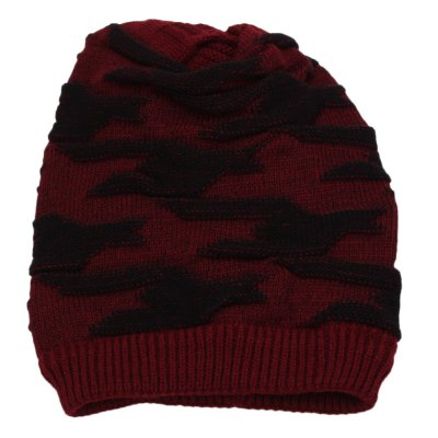Winter Elastic Band Male Warm Ear Care Knitted Hat