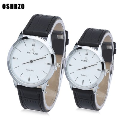 OSHRZO Couple Quartz Watch