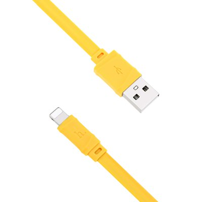 HOCO X5 8 Pin Noodle Charge Data Transfer Cord 1M