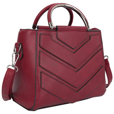 Trendy PU Leather Zipper Type Pure Color Women BagWomens Bags<br>Trendy PU Leather Zipper Type Pure Color Women Bag<br><br>Handbag Type: Bucket Bag<br>Style: Fashion<br>Gender: For Women<br>Pattern Type: Solid<br>Closure Type: Zipper<br>Internal Material: Polyester<br>External Material: PU<br>Size(CM)(L*W*H): 24.00 x 12.00 x 19.00 cm / 9.45 x 4.72 x 7.48 inches<br>Product weight: 0.450 kg<br>Package weight: 0.471 kg<br>Package size (L x W x H): 24.50 x 12.50 x 19.50 cm / 9.65 x 4.92 x 7.68 inches<br>Package Contents: 1 x Bag