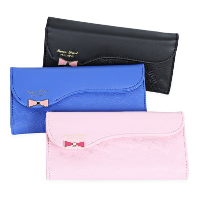 Bowknot Cute Love Wallet Purse for Girls