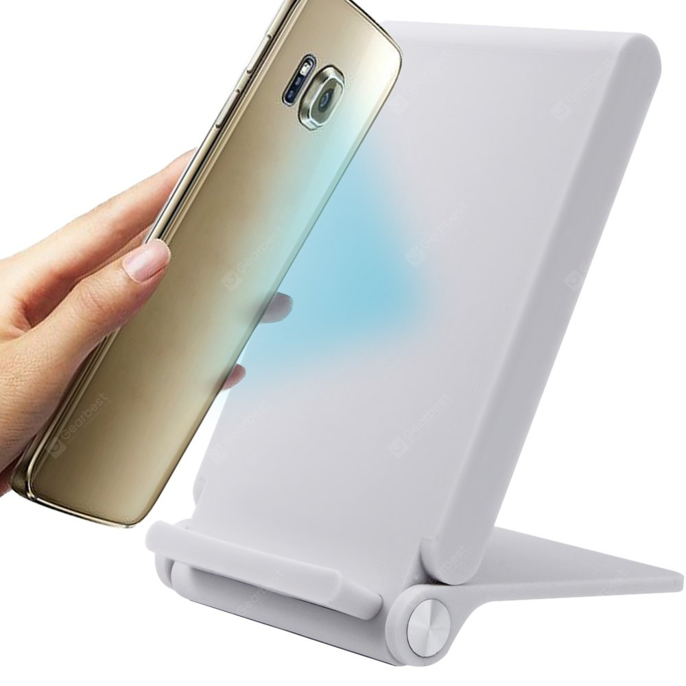 3 Coils Wireless Charger Stand for iPhone / Android Smart Phones