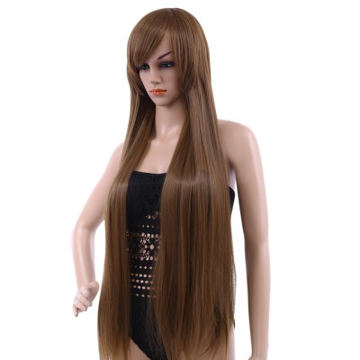100cm-long-silky-straight-central-parting-synthetic-wigs