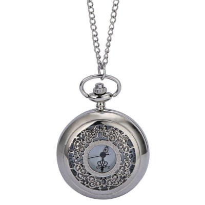 Retro Pocket Quartz Necklace Watch