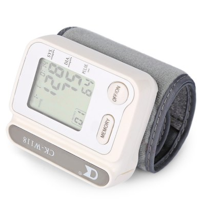 CHANGKUN W118 Portable Wrist Blood Pressure Pulse Monitor