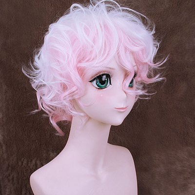 Lovely Short Gradient Pink White Wig with Side BangsCosplay Wigs<br>Lovely Short Gradient Pink White Wig with Side Bangs<br><br>Type: Full Wigs<br>Style: Curly<br>Material: Synthetic Hair<br>Bang Type: Side<br>Length: Short<br>Length Size(CM): 25<br>Length Size(Inch): 9.84<br>Product weight: 0.115 kg<br>Package weight: 0.185 kg<br>Package size (L x W x H): 27.00 x 17.00 x 5.00 cm / 10.63 x 6.69 x 1.97 inches<br>Package Contents: 1 x Wig