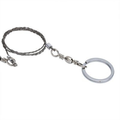 Aotu Outdoor Emergency Portable Stainless Steel Wire Saw Gear