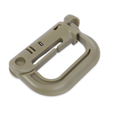 EDCGEAR D-ring Light Carabiner Outdoors Tool
