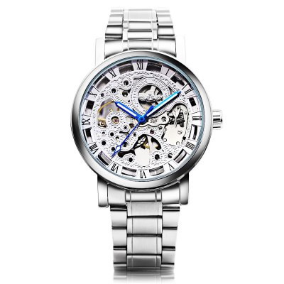 Winner Male Auto Mechanical WatchMens Watches<br>Winner Male Auto Mechanical Watch<br><br>Band Length: 8.66 inch<br>Band Material Type: Stainless Steel<br>Band Width: 20mm<br>Case material: Alloy<br>Case Shape: Round<br>Clasp type: Folding Clasp<br>Dial Diameter: 1.5 inch<br>Dial Display: Analog<br>Dial Window Material Type: Hardlex<br>Feature: Luminous<br>Gender: Men<br>Movement: Automatic Self-Wind<br>Package Contents: 1 x Watch<br>Package Size(L x W x H): 12.00 x 5.50 x 2.20 cm / 4.72 x 2.17 x 0.87 inches<br>Package weight: 0.129 kg<br>Product Size(L x W x H): 22.00 x 4.50 x 1.20 cm / 8.66 x 1.77 x 0.47 inches<br>Product weight: 0.108 kg<br>Style: Business
