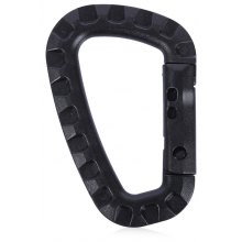 5pcs Outdoor Carabiner D-ring Key Chain Clip Hook