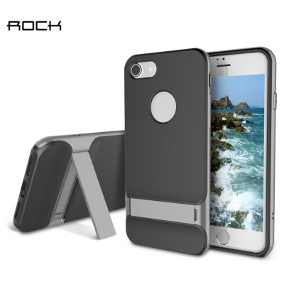 ROCK Royce Series with Kickstand Business Style Protective Shell TPU Back Cover for iPhone 7