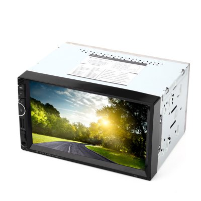 8001 7 inch Double Din 12V Car Multimedia MP5 Player