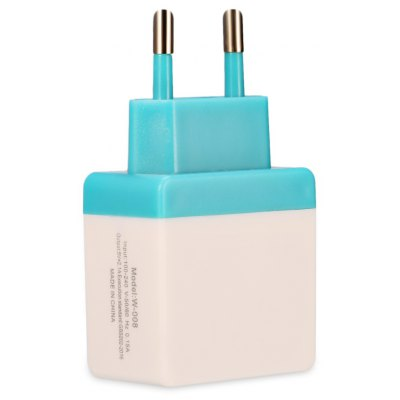 Universal Wall Charger Adapter Dual USB Output