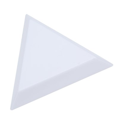 Plastic Triangle Dish DIY Tool Plate