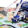 Xiongfengda Kids Alloy 1:60 Scale Police Department Set photo