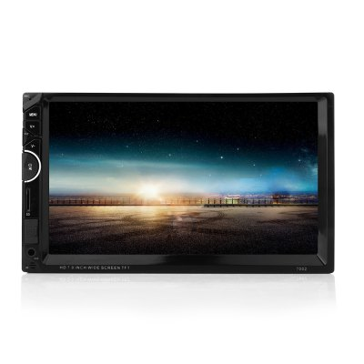 7002 7 inch Double Din 12V Car Multimedia MP5 Player
