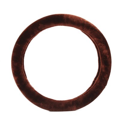 Casual Solid Color Car Steering Wheel Cover