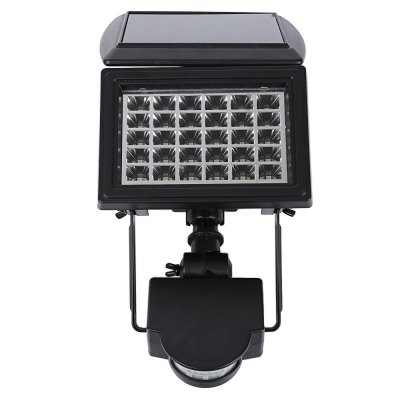 Outdoor 200LM 30 LEDs Solar Powered Spike Lawn Lamp