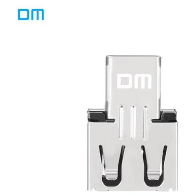 DM USB2.0 to Type C Port OTG Data Transfer Adapter