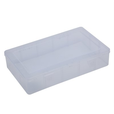Medium Sized Plastic Fishing Tackle Box Container