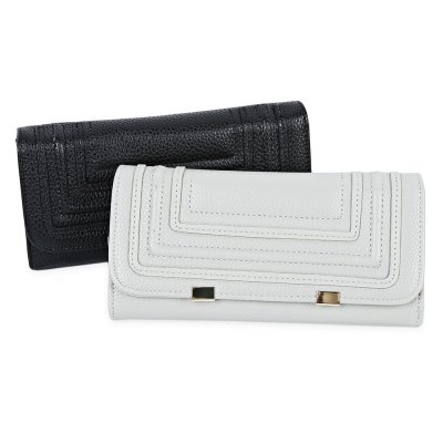 Detachable Cell Phone Envelope Clutch Wallet for WomenWomens Wallets<br>Detachable Cell Phone Envelope Clutch Wallet for Women<br><br>Wallets Type: Clutch Wallets<br>Gender: For Women<br>Style: Fashion<br>Closure Type: Hasp<br>Pattern Type: Others<br>Main Material: PU<br>Interior: Interior Compartment,Interior Zipper Pocket,Zipper Pouch<br>Height: 3.4cm / 1.34inch<br>Width: 9.6cm / 3.78inch<br>Length(CM): 19.1cm / 7.52inch<br>Color: Gray / Black<br>Product weight: 0.180 kg<br>Package weight: 0.202 kg<br>Package size (L x W x H): 19.60 x 10.10 x 3.90 cm / 7.72 x 3.98 x 1.54 inches<br>Package Contents: 1 x Clutch Wallet