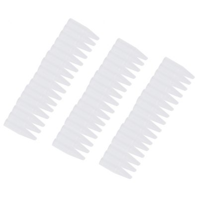 100pcs Tattoo Multi-size Transparent Pointed Mouth Needle Cap