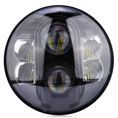 80W LED Head Light for Harley / Jeep