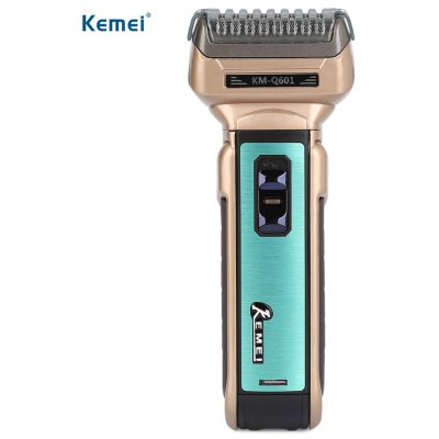 Kemei KM - Q601 Reciprocating Three Blades Electric Shaver