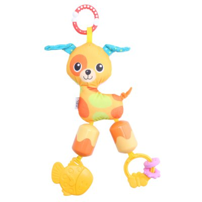 Colorful Infant Cartoon Animal Shape Cradle Rattle Toy