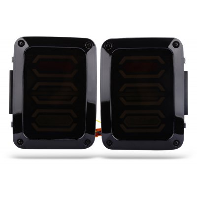 Pair of LED Taillight Tail Lamps for Jeep
