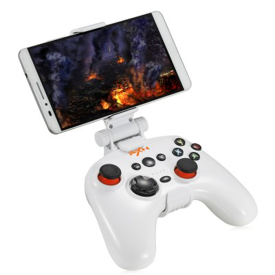 PXN 9608 2.4GHz Wireless Bluetooth V4.0 JoystickGame Controllers<br>PXN 9608 2.4GHz Wireless Bluetooth V4.0 Joystick<br><br>Package Contents: 1 x Joystick, 1 x Clip, 1 x USB Cable, 1 x English User Manual<br>Package Size(L x W x H): 18.80 x 17.30 x 7.50 cm / 7.4 x 6.81 x 2.95 inches<br>Package weight: 0.507 kg<br>Product Size(L x W x H): 15.00 x 11.00 x 3.00 cm / 5.91 x 4.33 x 1.18 inches<br>Product weight: 0.243 kg