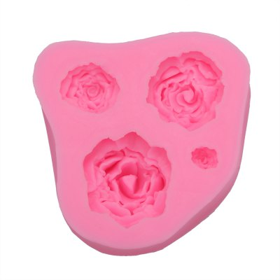 Rose Pattern Cake Fondant Baking Tool