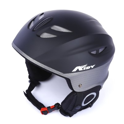 AIDY Adult Skiing Helmet with Adjustable Buckle Liner Cushion Layer