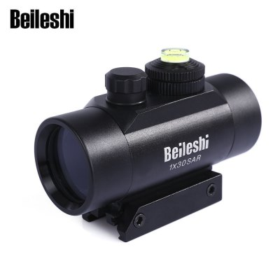 Beileshi 1 x 30 Tactical Aiming Red Beam Dot Laser Sight Scope