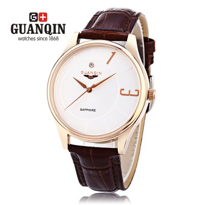 GUANQIN GS19048 Men Quartz Watch