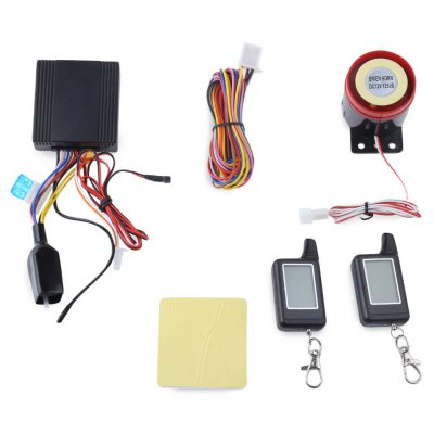 LM300 Two Way LCD Motorcycle Alarm System